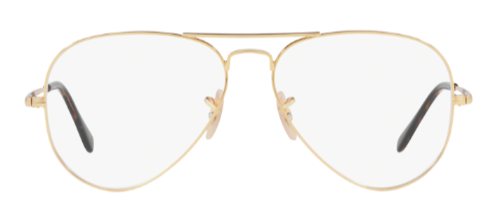 Ray-Ban RX6489 aviator glasses