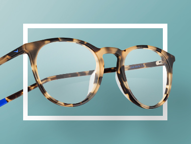 Stylish Frames for Thick Lenses